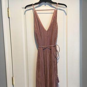 Top Shop Pleated Midi Dress